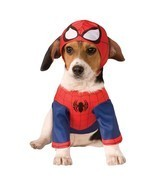Rubies Marvel Spider Man Super Hero Movie Comic Dog Pet Halloween Costum... - £9.81 GBP+