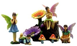 Fairy Garden Kit With Miniature Fairies - $51.87