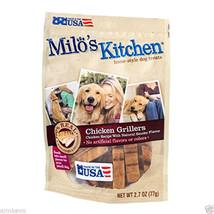 Milo's Kitchen Home Style Dog Treats Snacks Goodies Chicken Grillers 2.7 Oz - $5.49