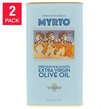 NEW Myrtos Greek Extra Virgin Olive Oil 3L, Tins, 2-pack **FREE SHIPPING** - $119.99