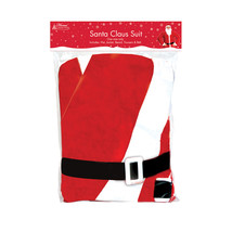 Home Collection Christmas Santa Claus Costume One Size - $15.69