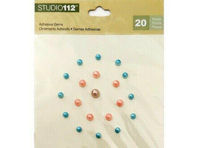 K&Company Studio 112 Pearl Adhesive Stickers #30-596504