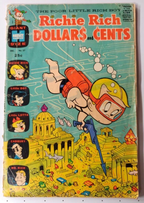 Richie Rich Dollars and Cents Havey #27 Comics FR