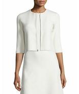 Theory Dress Jacket Irelia Asleen Knit Ivory Stripes Women Size S - $299.99