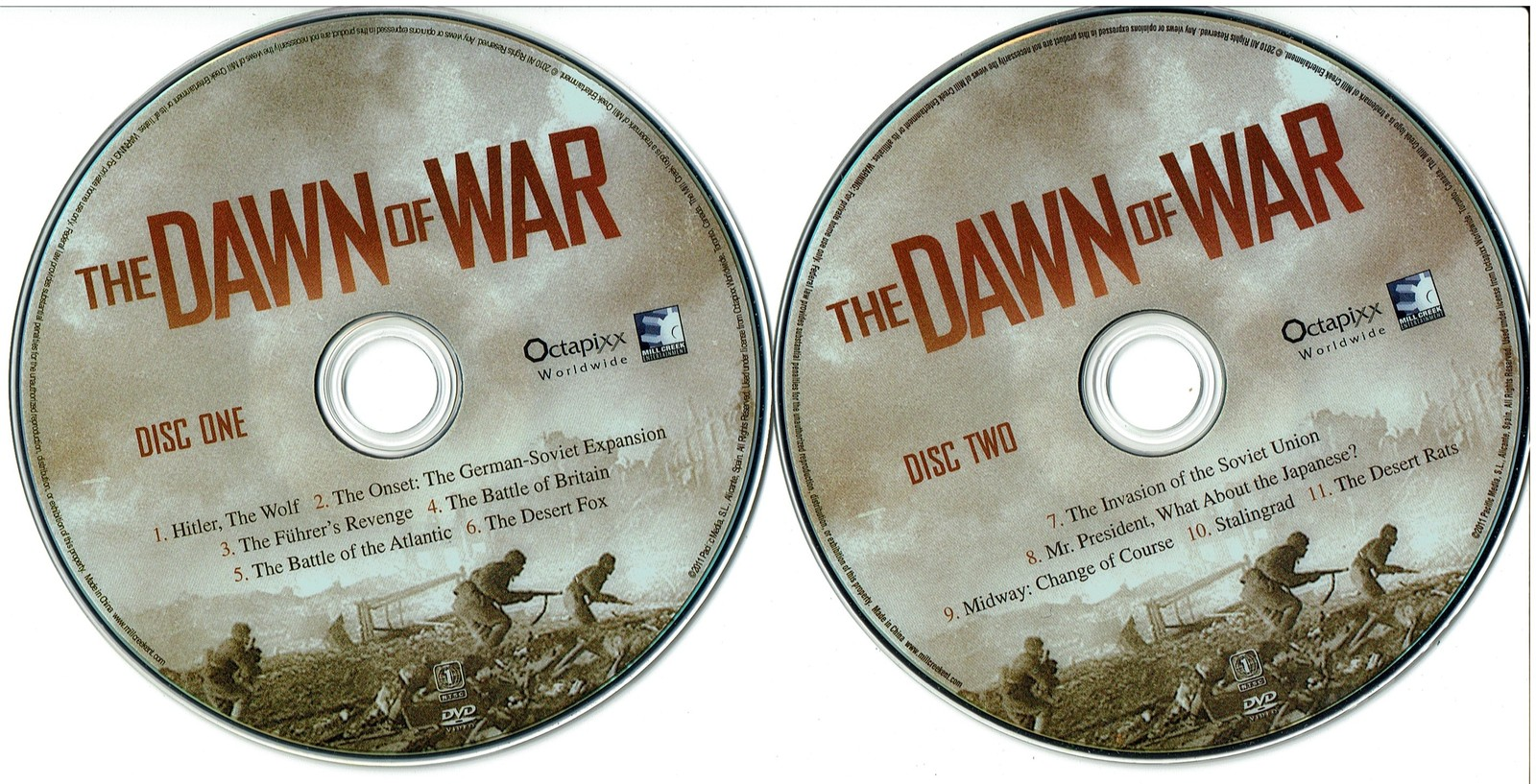 The Dawn of War: The Early Battles of WWII (WW2) DVD 2011, Documentary 9.5 hours