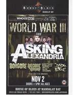 We Came As Romans, WORLD WAR III Tour @ House of Blues Mandalay Bay Vega... - $3.95