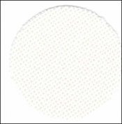 Primary image for 32ct White Lugana 13x18 1/8yd cross stitch fabric Zweigart
