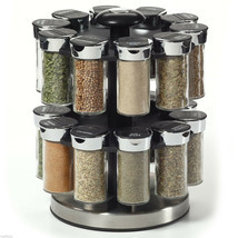 Spices Kamenstein Two Tier Rotating Spice Rack - £41.51 GBP