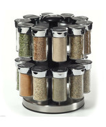 Spices Kamenstein Two Tier Rotating Spice Rack - £44.22 GBP