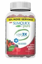 SlimQuick Pure Mixed Berries Gummies Dietary Supplement 60 Gummies - $28.21