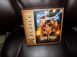 "Harry Potter And The Sorcerer's Stone 550 Piece Collector's Puzzle 18"" x 24"" NEW - $16.00"
