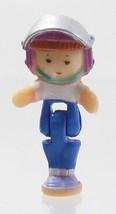 1994 Vintage Polly Pocket Dolls Scooter Fun - Midge Bluebird Toys - $7.50