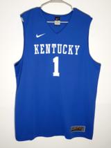 Kentucky Wildcats Basketball Jersey by NIKE Elite | Official UK Blue | M... - $32.95