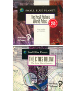 Lot 2 Small Blue Planet Real Picture World Atla... - $1.99