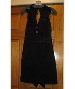 Sunner Florent Black corduroy dress Sz 0 $298  - $126.00
