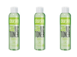 3 x Avon Clearskin Deep Pore Purifying Toner Shine Control 100 ml New - $22.99