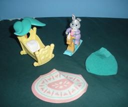 Vintage Fisher Price #74730 Hideaway Hollow Baby's Nursery Set COMP/NR M... - $15.99