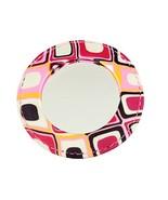 Calypso Studios - Comforting Clay Handcrafted Pocket Mirror - Pink Petal. - $9.50