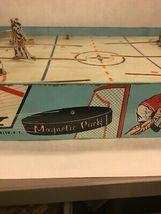 Vintage NHL Superior Action Hockey Table Game Toy Cohn Blackhawks Rangers image 3