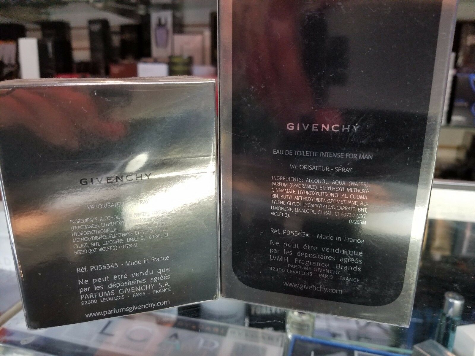 Givenchy Play Intense by Givenchy 1.7 3.3oz EDT Eau De Toilette Spray Men SEALED image 3