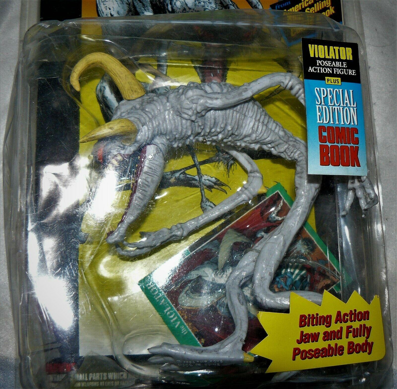 Spawn Series 1 Violator Action Figure w/Comic Book McFarlane Toys 1994