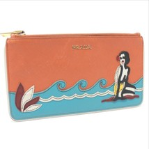 AUTHENTIC PRADA Saffiano Beach Leather Pouch 1M1152 - $230.00