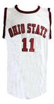 Jerry lucas  11 college basketball jersey white   1 thumb200