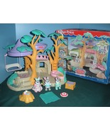Vintage Fisher Price #74733 Hideaway Hollow Bunny Home Play Set COMPLETE w/BOX! - $65.00