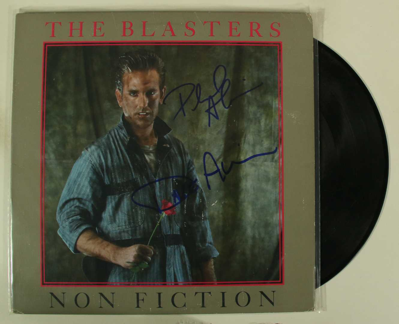"Primary image for Dave & Phil Alvin Signed Autographed ""The Blasters"" Record Album"
