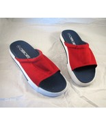 Cherokee Womens Size 9 Red Mules Shoes Sandals  NWOB - $15.00