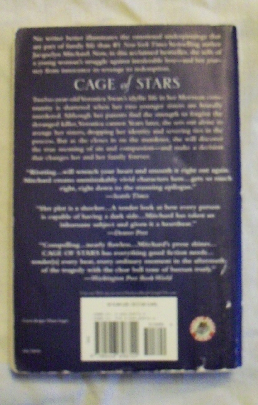 Cage of Stars by Jacquelyn Mitchard Softcover NICE Reader group guide