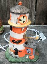 Creepy Hollow Cape Odd Lighthouse 1997 19569-7 Halloween Village - $24.99