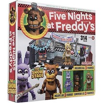 McFarlane Toys Five Nights at Freddys The Show Stage Construction Set - $127.39