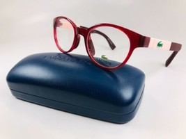 New KIDS LACOSTE L3628 526 Cyclamen & Pink Eyeglasses 46mm with Case - $69.25