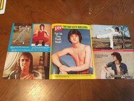Bay City Rollers teen magazine poster clipping magazine  shirtless Lesli... - $4.00