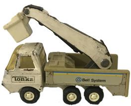 Vintage Tonka Mini Bell System Bucket Lift Service Truck 1970's - $18.69