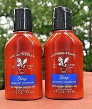 2 Bath & Body Works Lavender Cedarwood Lotion Travel Size 2 Oz Each New - $12.89