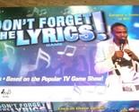 Dont forget the lyrics lid thumb155 crop
