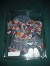 Vintage Fisher Price My Friend #215 Patio Party Denim Outfit NR MINT + S... - $18.99