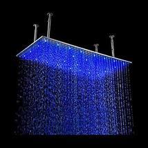 "Cascada Ceiling Mount Rainfall LED Shower Head, (include Shower Arm) (8""x16"", Ch - $395.95"