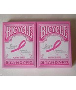Bicycle Breast Cancer Playing Cards Two Decks P... - $7.00