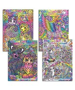 Lisa Frank Adult Coloring Book Set -- 4 Premium Lisa Frank Coloring and ... - $16.53