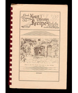 A Book of Famous Old NEW ORLEANS RECIPES Cookbook - $18.00