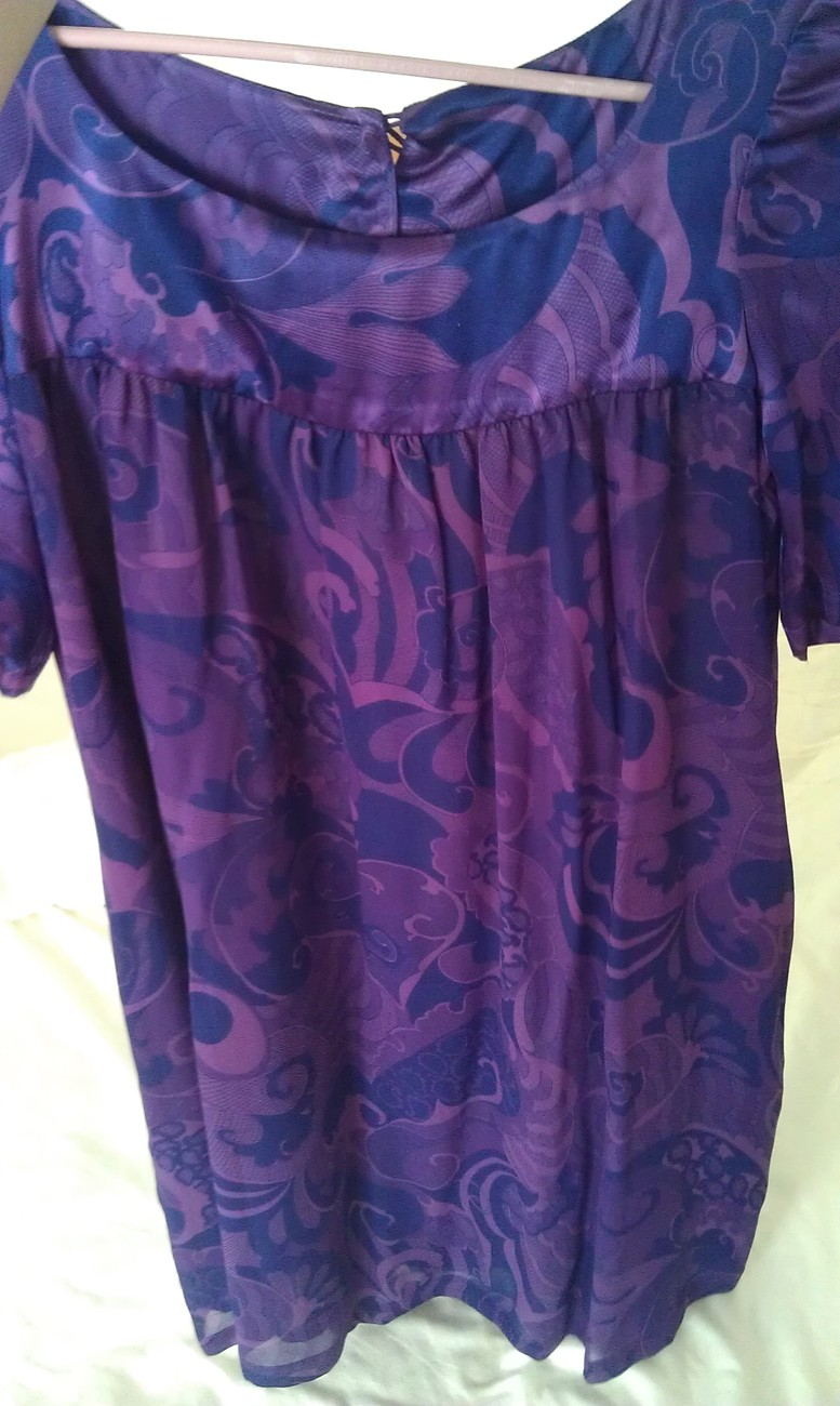 FRENCH CONNECTION SZ 4 100% SILK DRESS