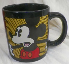 """DISNEY STORE MICKEY MOUSE OVERSIZED COFFEE MUG CUP 4.5"""" x 4"""" - $12.95"""