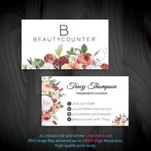 Beautycounter Business Card, Personalized Beautycounter Business Cards, ... - $9.00