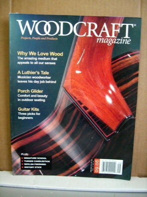 Primary image for Woodcraft Magazine September 2006 A Luthier's Tale