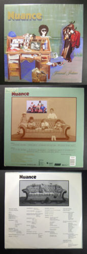 Primary image for Canada pop vocal/prog NUANCE Journal Intime ISBA LP 1988