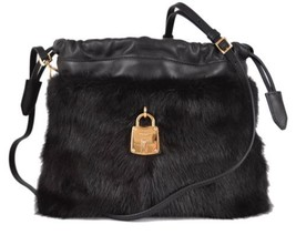 New Burberry Prorsum $5,795 Mink Fur Little Crush Runway Crossbody Purse... - $1,949.00