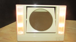 Vintage 1986 Avon Reflections of Beauty Lighted Vanity Make-Up Mirror 2 ... - $12.99